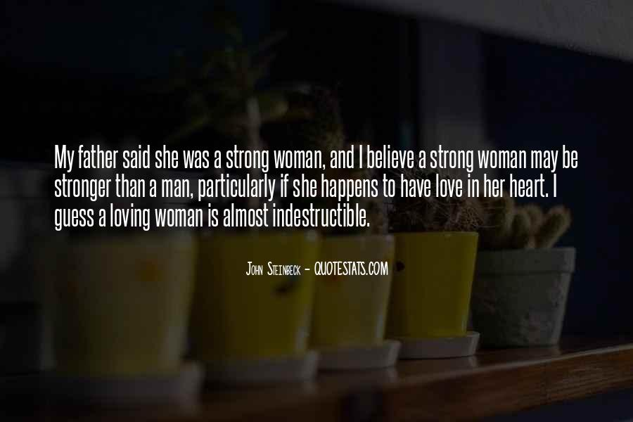 Strong Woman And Man Quotes #541896