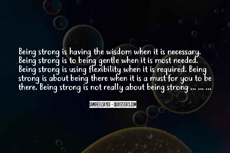 Strong Yet Gentle Quotes #1321238