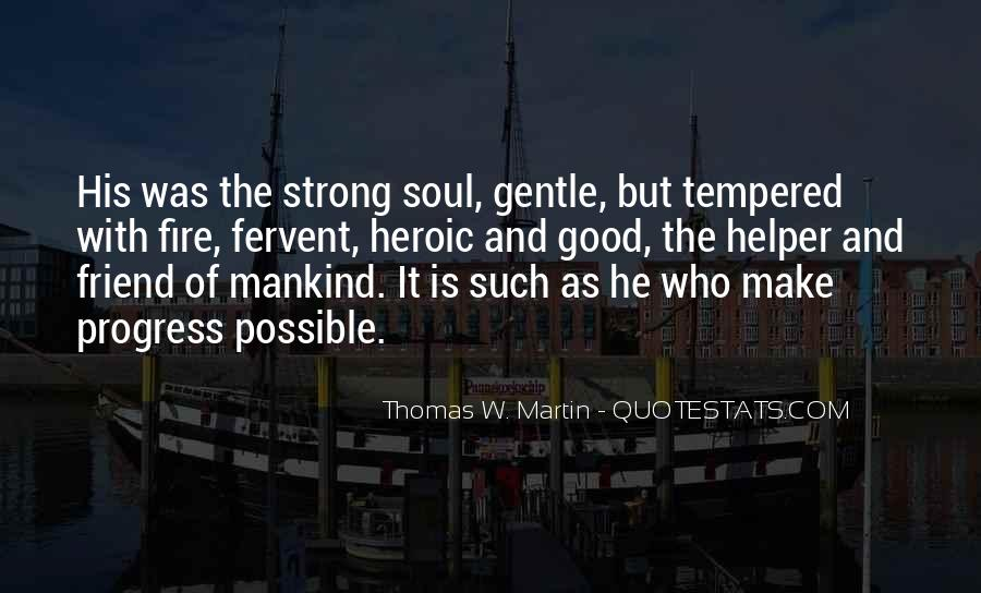 Strong Yet Gentle Quotes #411166