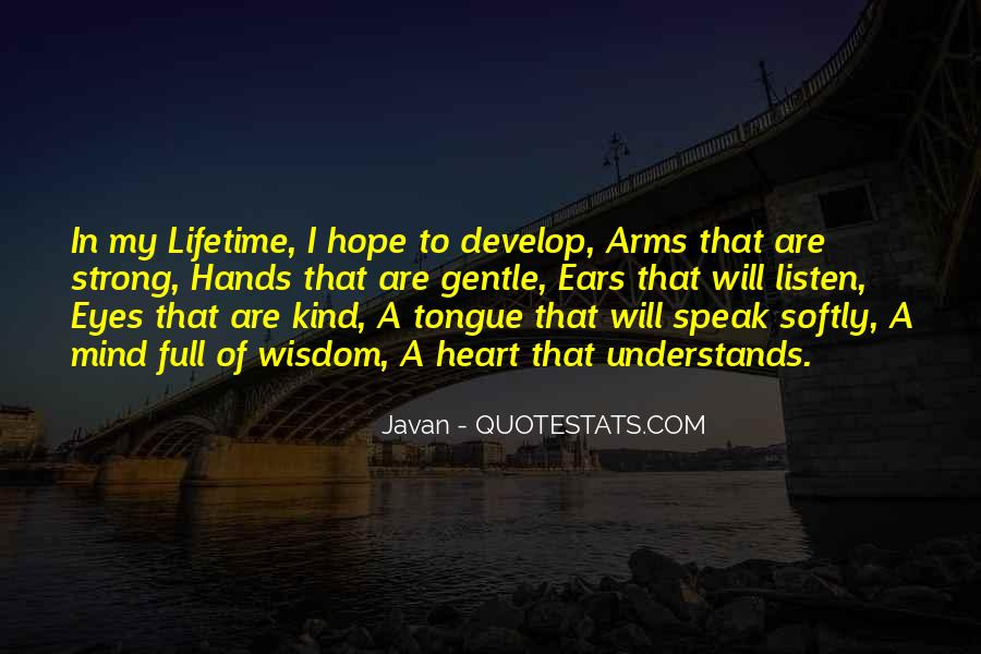 Strong Yet Gentle Quotes #98601