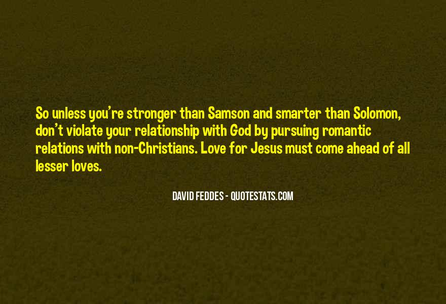 Stronger Relationship With God Quotes #967054