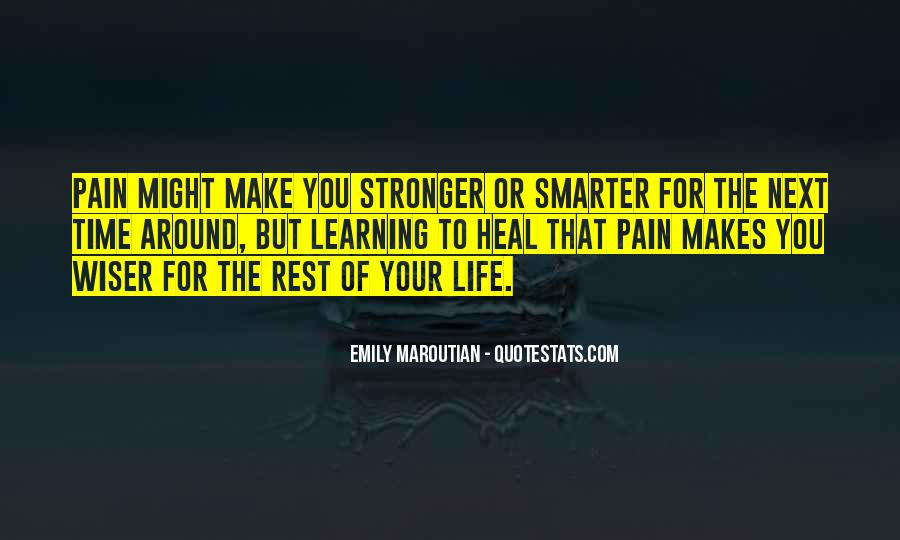 Stronger Smarter Quotes #631637