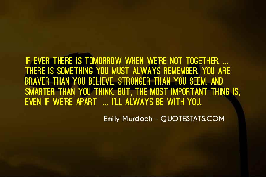 Stronger Smarter Quotes #647363