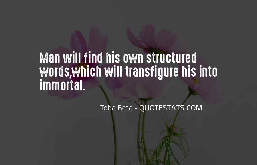 Quotes About Structured #116344