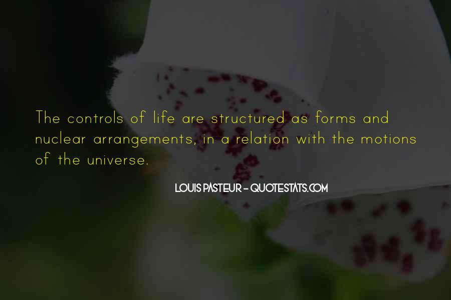 Quotes About Structured #219407