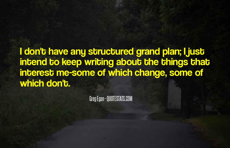 Quotes About Structured #248449