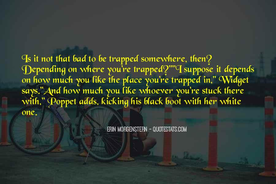 Stuck On You Like Quotes #1392651