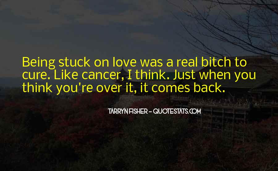 Stuck On You Like Quotes #517177