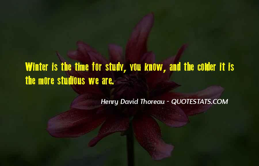 Study Time Quotes #24834