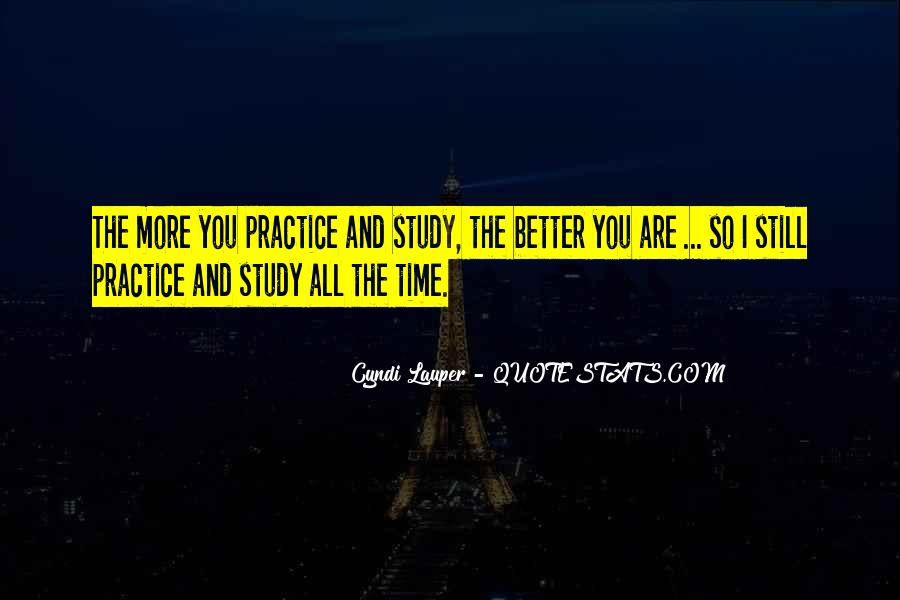 Study Time Quotes #275810