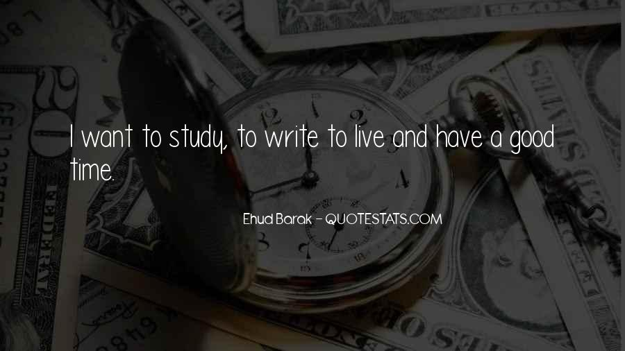 Study Time Quotes #483671