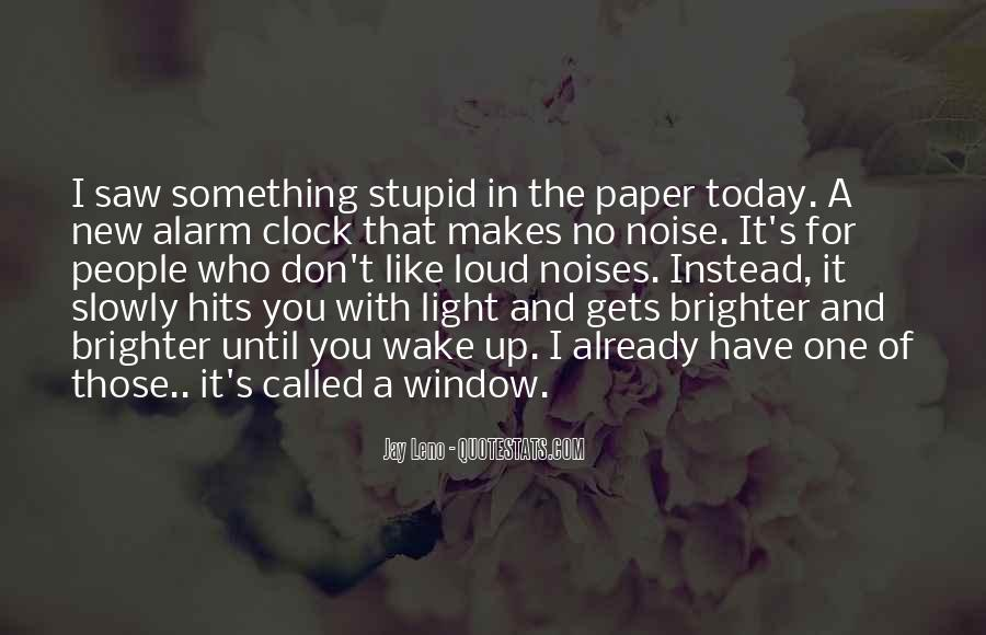 Stupid And Funny Quotes #1570287