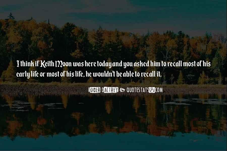 Quotes About Keith Moon #1431037