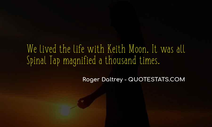 Quotes About Keith Moon #373594
