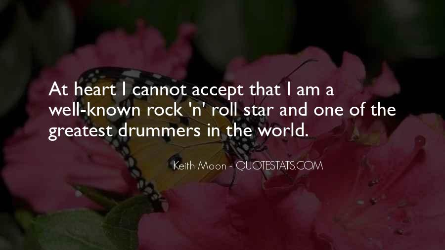 Quotes About Keith Moon #740877