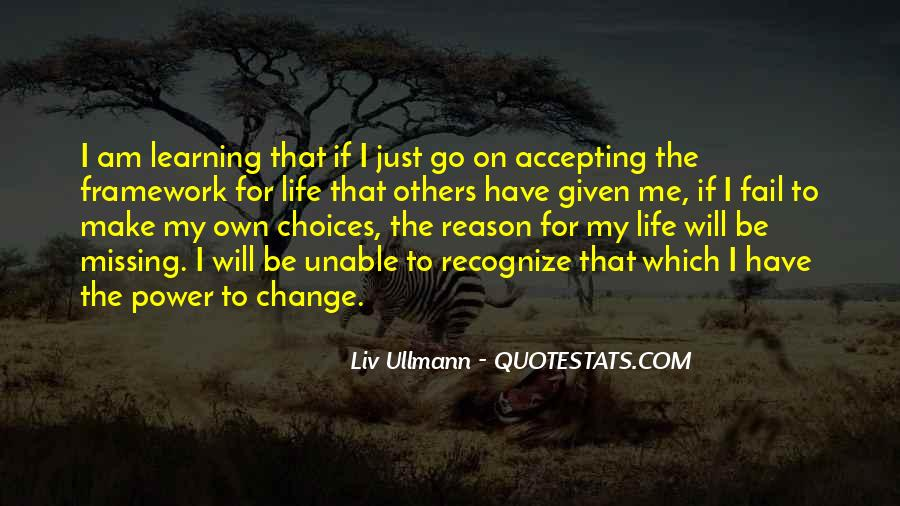 Quotes About Accepting Change In Life #1647364