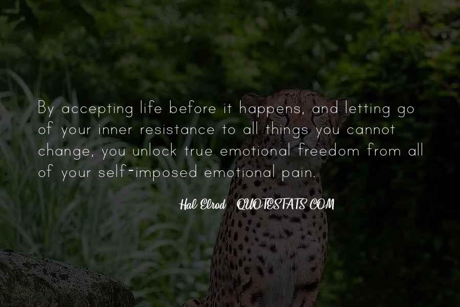 Quotes About Accepting Change In Life #427263