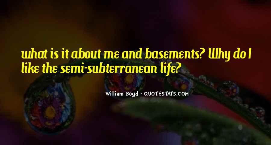 Subterranean Quotes #354833