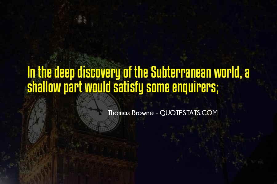 Subterranean Quotes #424261