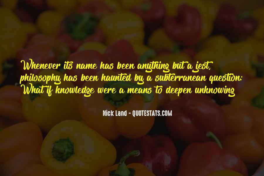 Subterranean Quotes #726915