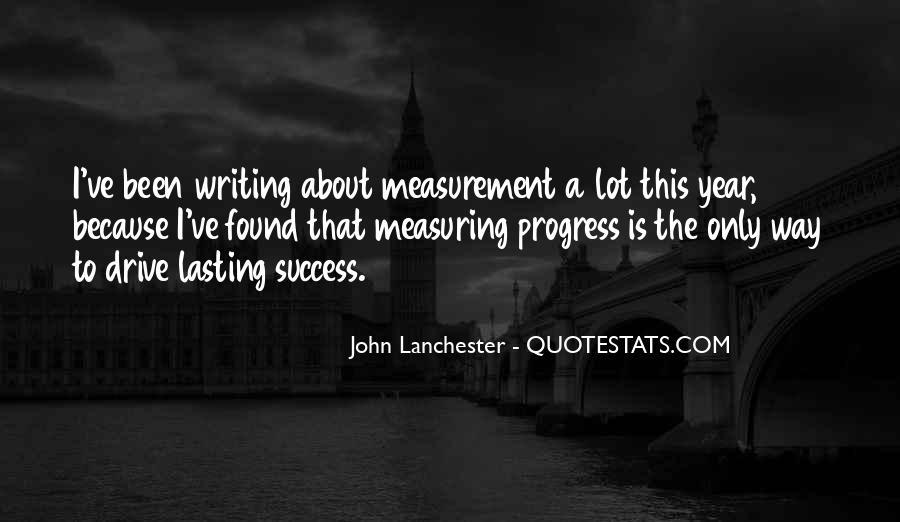 Success Measurement Quotes #1021534