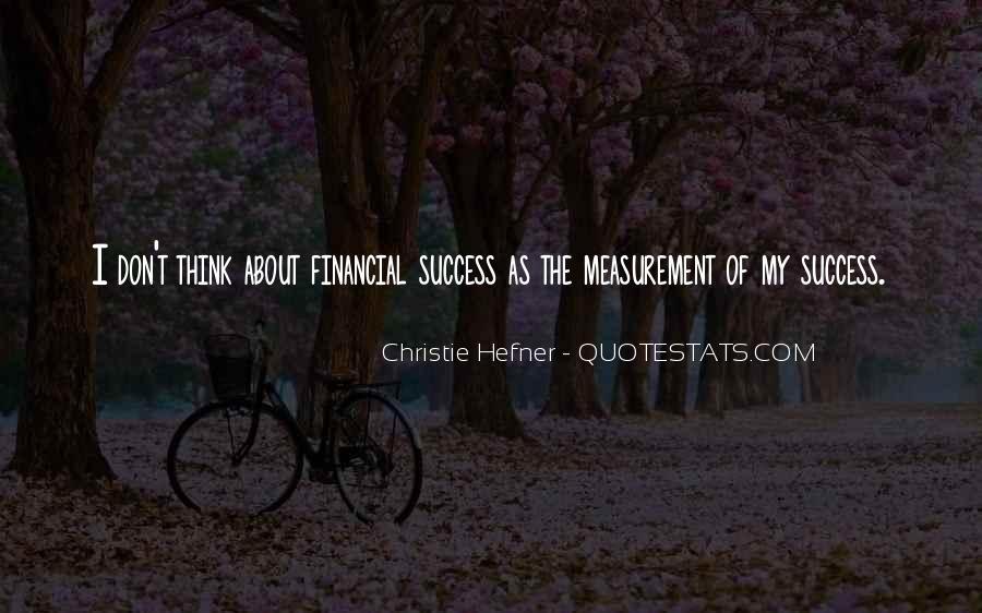 Success Measurement Quotes #541290