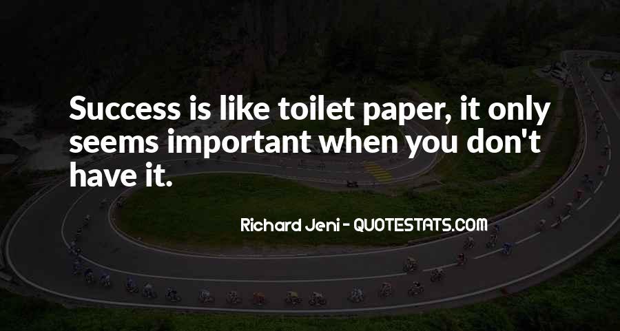 Success Of Man Quotes #10155