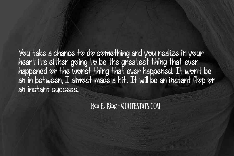 Success Of Man Quotes #11583