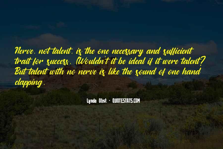 Success Of Man Quotes #4184