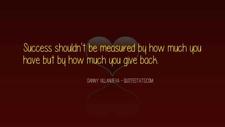 Success Of Man Quotes #4428