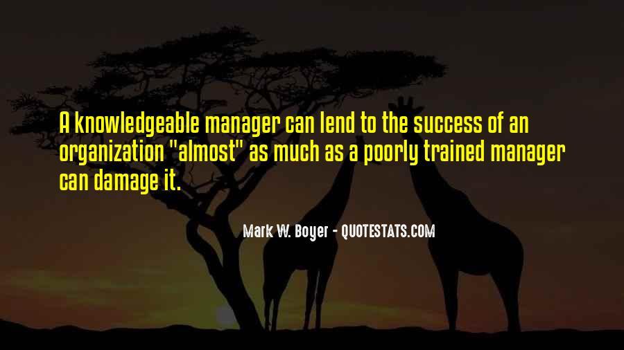 Success Of Man Quotes #5518