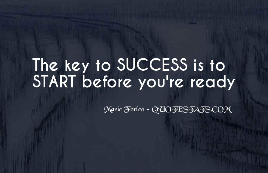 Success Of Man Quotes #6259