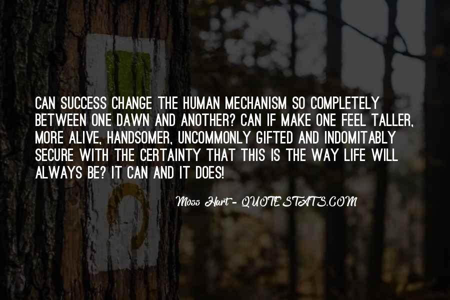 Success Of Man Quotes #6625