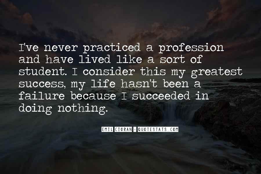 Success Of Man Quotes #9073