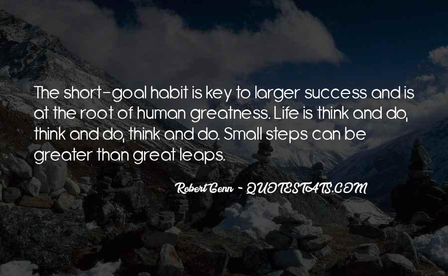 Success Small Steps Quotes #1055731
