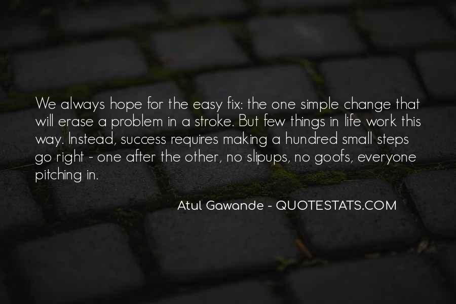 Success Small Steps Quotes #1107093