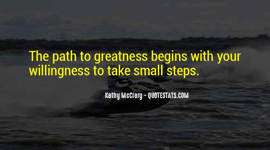 Success Small Steps Quotes #1545666
