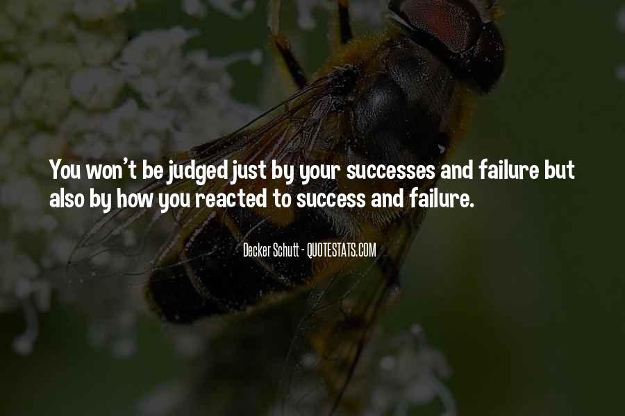 Successes Quotes #118649