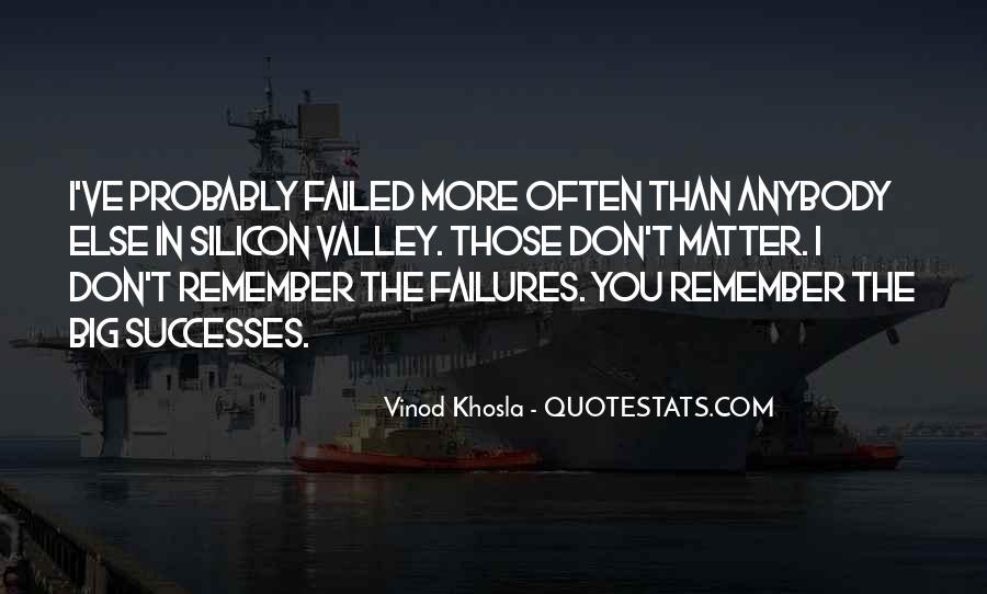 Successes Quotes #154455