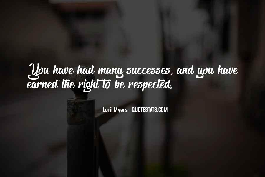 Successes Quotes #166489