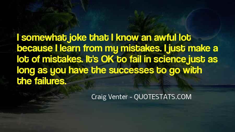 Successes Quotes #282344