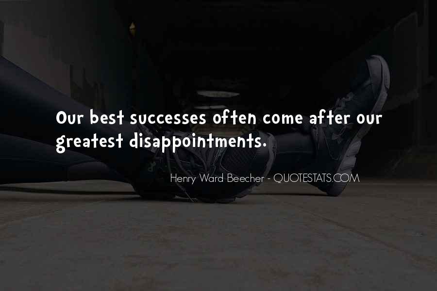 Successes Quotes #302717