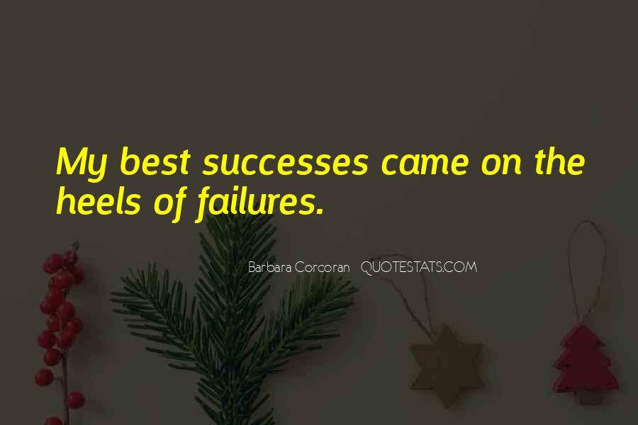 Successes Quotes #313830