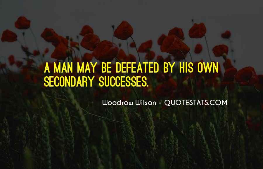 Successes Quotes #32658
