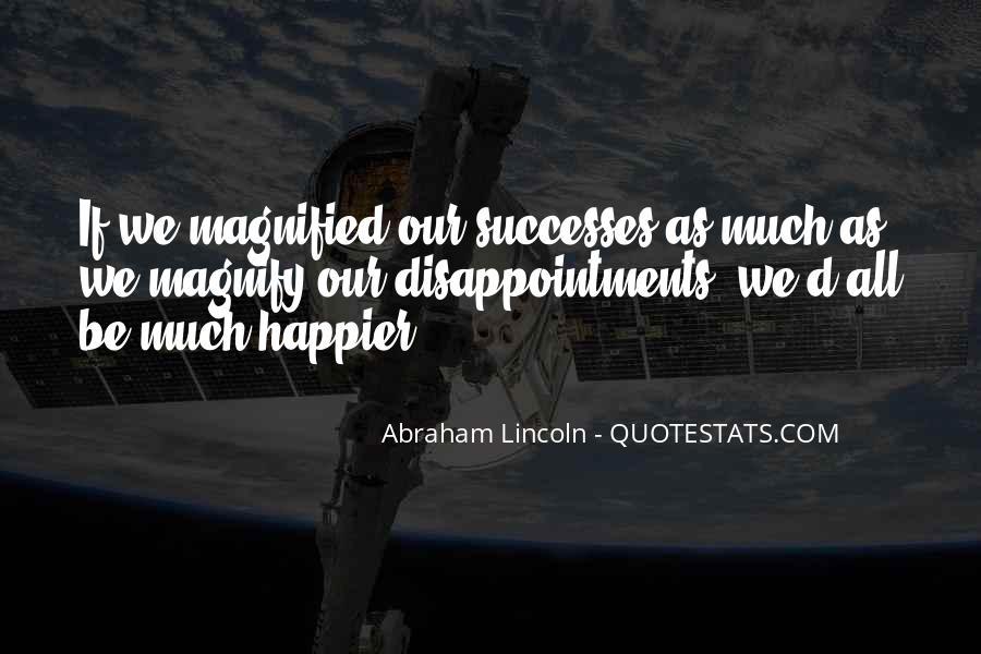 Successes Quotes #36395