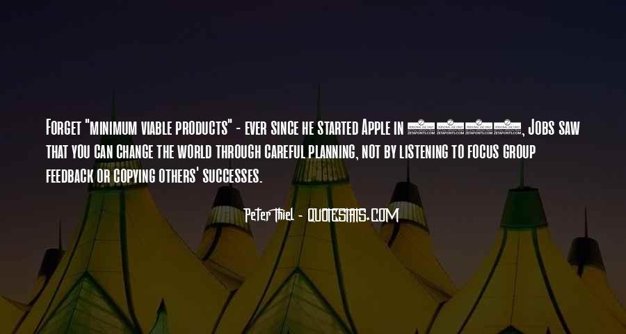 Successes Quotes #5421