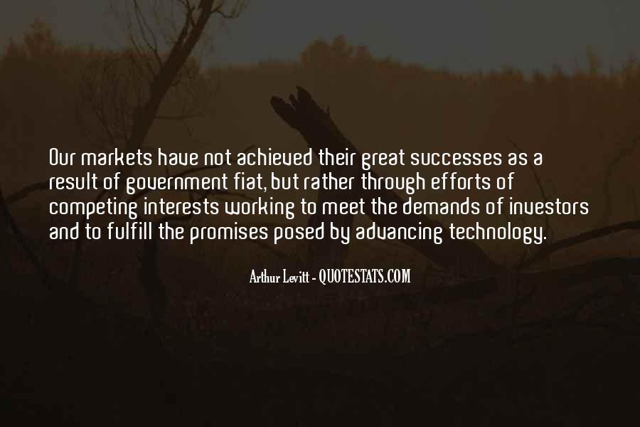 Successes Quotes #62325