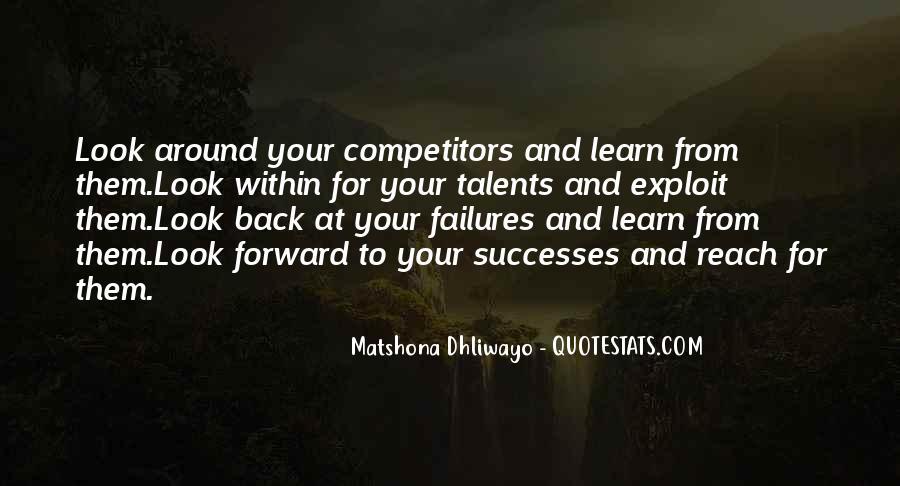 Successes Quotes #90741