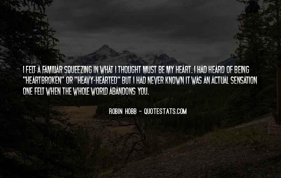 Quotes About Being Known #108012