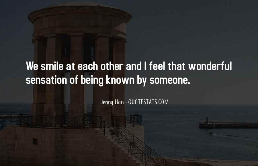 Quotes About Being Known #204712
